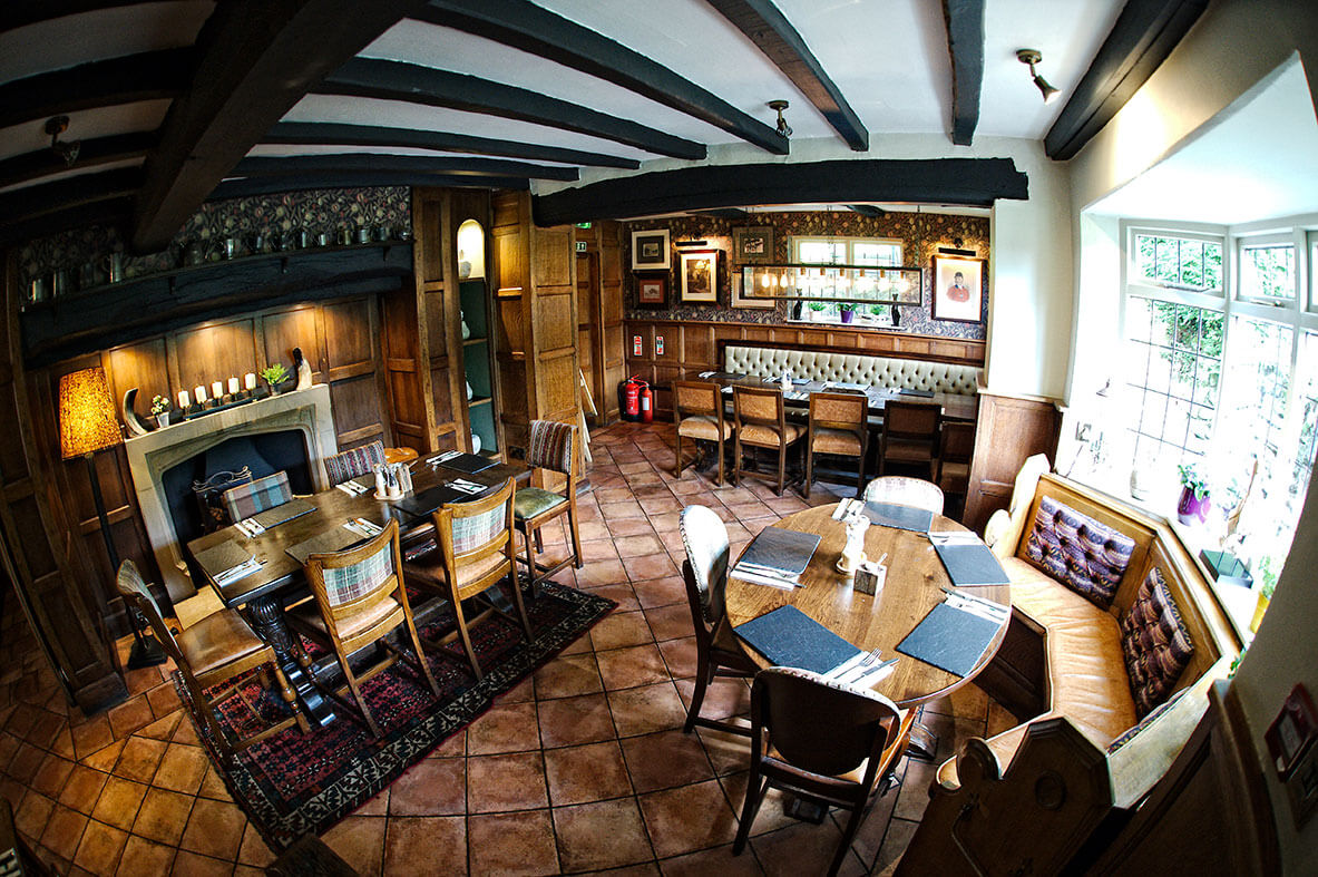Pheasant Inn Cheshire Tiles