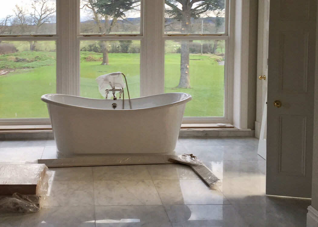 Large Format Bathroom Tiles