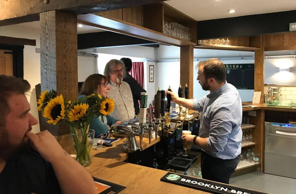 The Bar at the Boot Inn